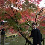 奈良は紅葉がとてもきれいです。