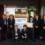 三井先生は単独2回目の最優秀ポスター賞を受賞。当講座はこれで5年連続の最優秀賞受賞を達成しました。